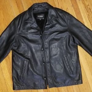 Men's GUESS *Genuine Leather* Coat